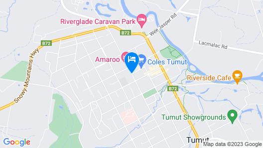 Best Western Motel Farrington Map