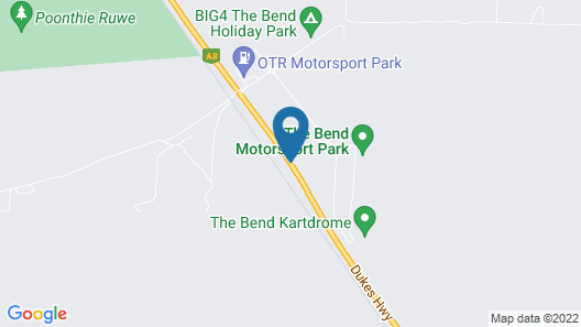 Rydges Pit Lane Hotel Map
