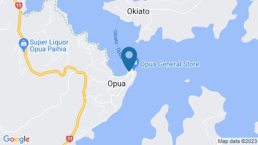 The Boathouse Opua Map