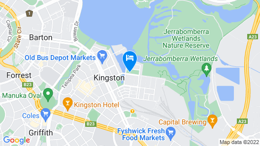 Accommodate Canberra - The Prince Map