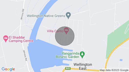 Wellington Lake Retreat Map