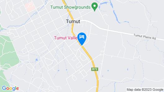 Tumut Valley Motel Map