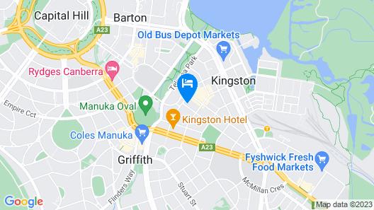 Knightsbridge Canberra Map