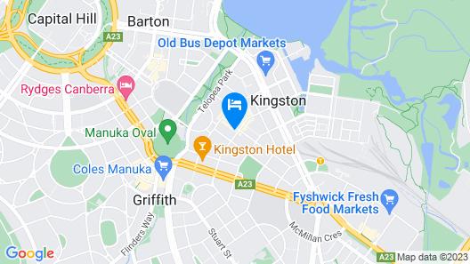 Abode Kingston Map