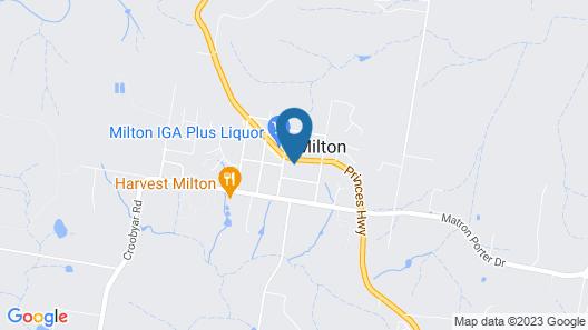 125 Milton Map