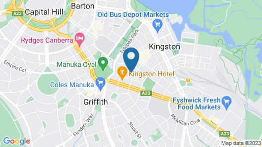 Pinnacle Apartments Map