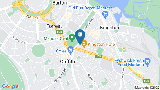 Manuka Park Apartments Map