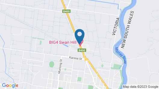 Big4 Swan Hill - Caravan Park Map