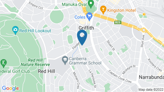 Accommodate Canberra - Amaya Map