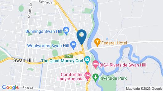 Best Western Travellers Rest Motor Inn Map
