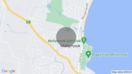 No5 for a relaxing beach getaway Map