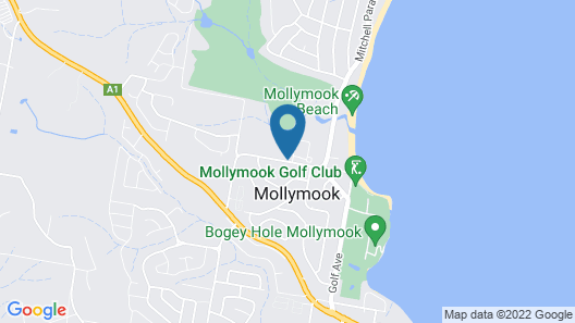 Mollymook Paradise Haven Motel Map