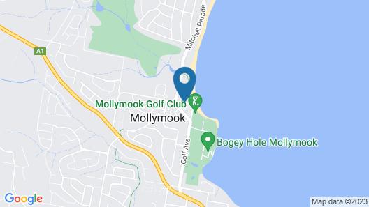 Allure on Ocean Motel Map