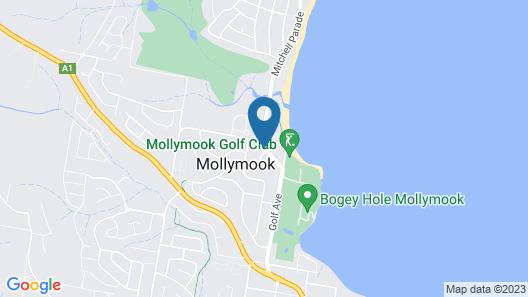 Mollymook Aquarius Apartments Map