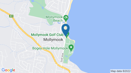 Beachhouse Mollymook Map