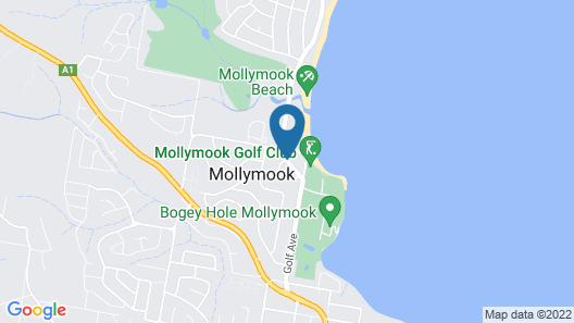 Mollymook Surfbeach Motel and Apartments Map
