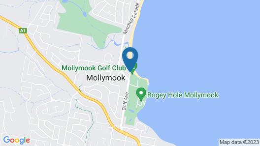 Mollymook Beachfront Executive Apartment Map