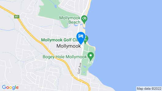 Mollymook Shores Motel and Conference Centre Map