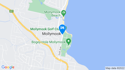 Mollymook Cove Apartments Map