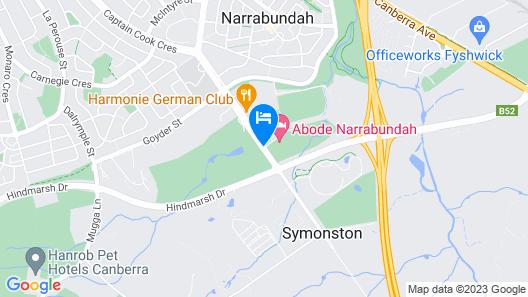 Abode Narrabundah Map