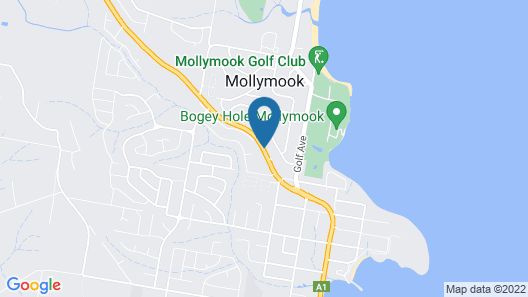 Mollymook Ocean View Motel Reward Long Stays - Over 18's Only Map