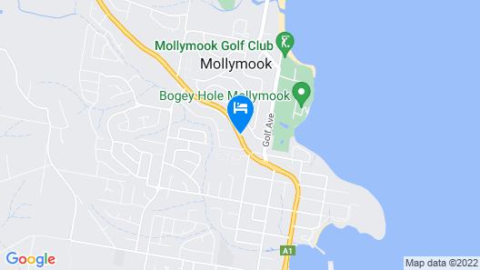 Mollymook Seascape Motel & Apartments  Map
