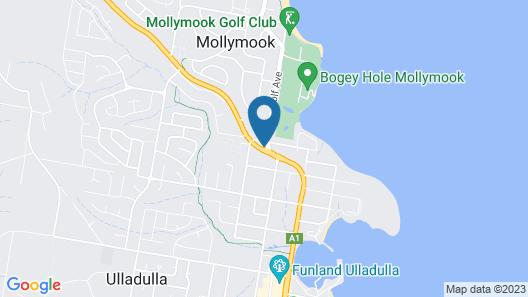 Mollymook Motel Map