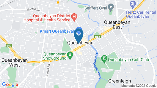 Mid City Motor Inn Map
