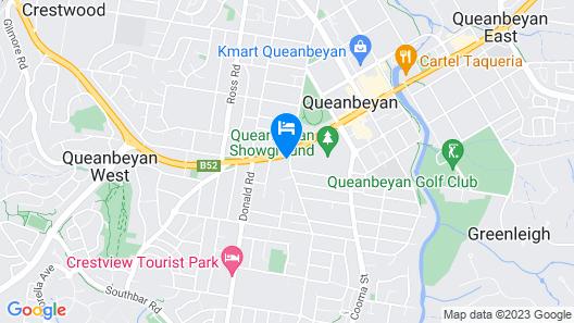 Canberra Ave Villas Map