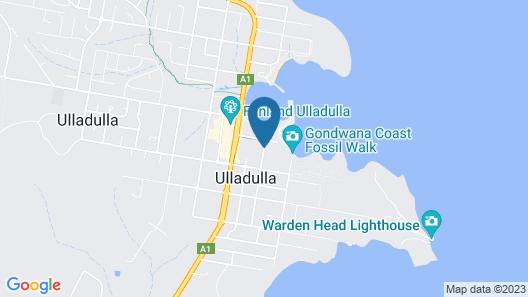 Ulladulla Harbour Motel Map