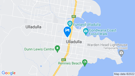 Harbourview Serviced Apartments Map