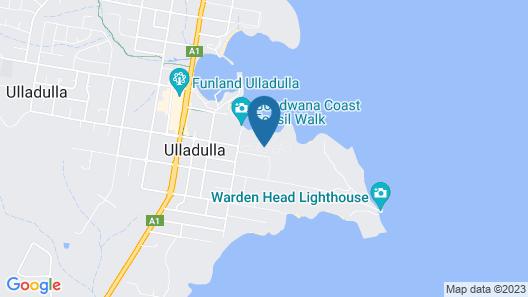 Holiday Haven Ulladulla Map