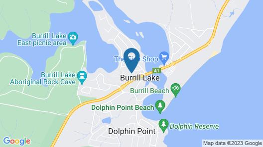 BIG4 Bungalow Park on Burrill Lake Map