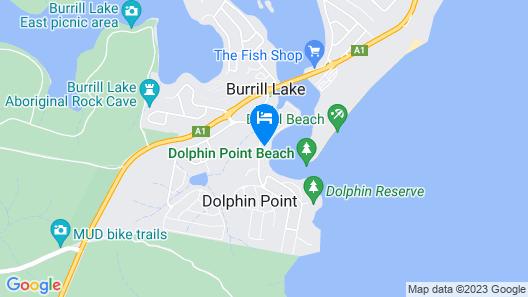 Dolphins Point Tourist Park Map