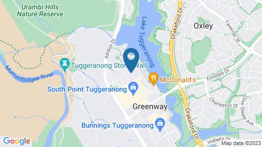 Abode Tuggeranong Map