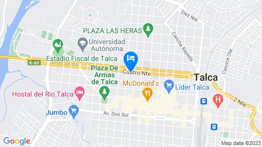 Diego de Almagro Talca Express Map