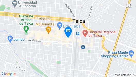 Hotel Capelli Map