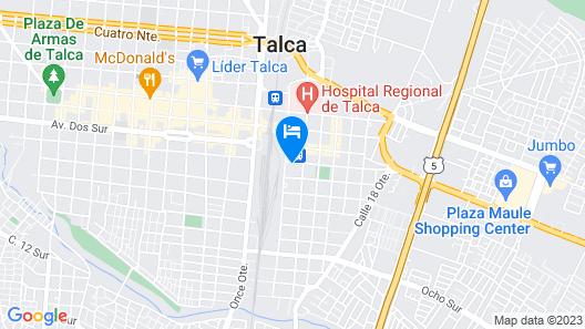 Nativo Hotel y Cafeteria Map