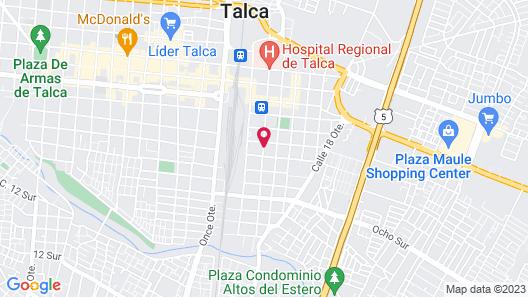 Residencial Don Santiago Map