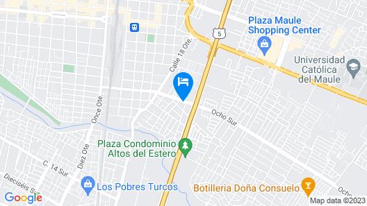 Hostal Del Turista Map