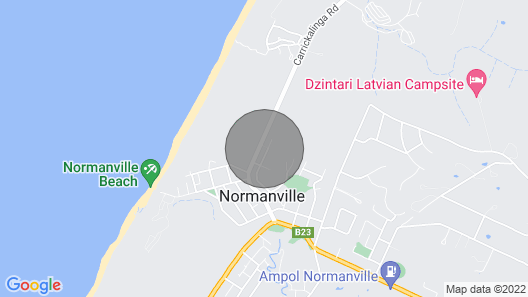 Holiday Rental Normanville Map