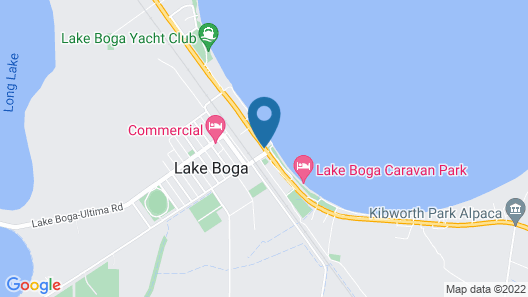 Lake Boga Caravan Park Map