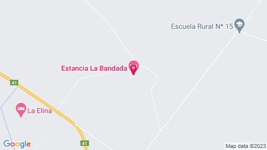 Estancia La Bandada Map