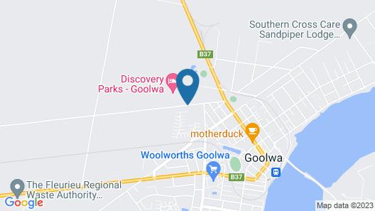 Goolwa Camping & Tourist Park Map