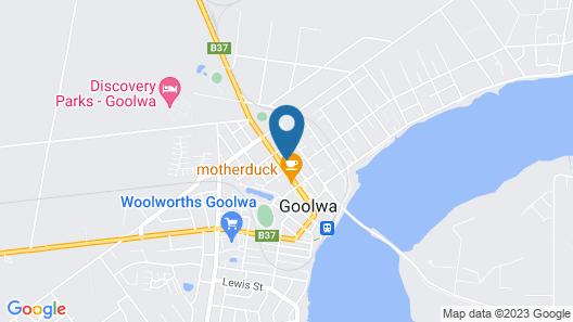 Motel Goolwa Map