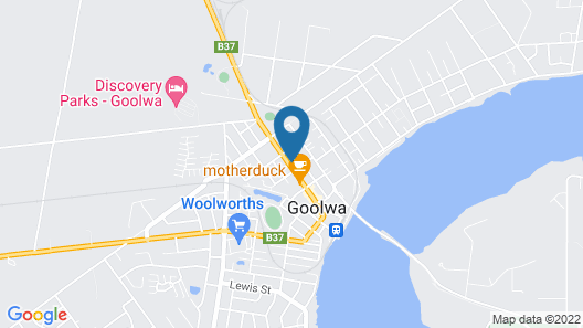 The Goolwa Central Motel Map