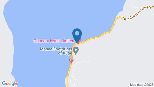 Opononi Resort Map