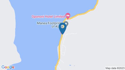 Opononi Lighthouse Motel Map