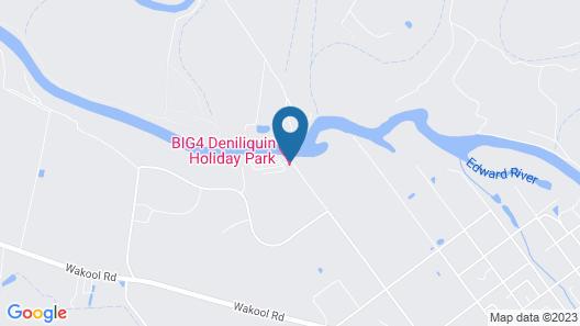 BIG4 Deniliquin Holiday Park Map