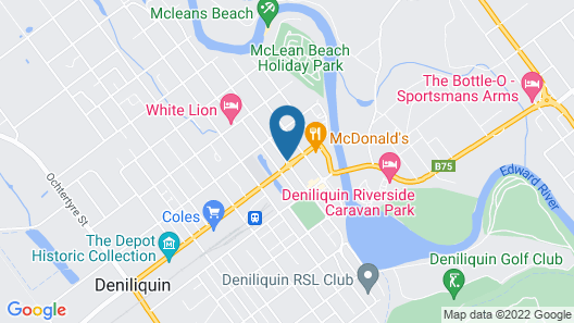 Centrepoint Motel Map